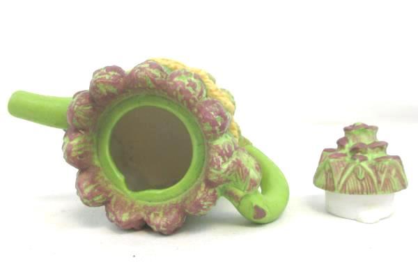 AVON Decorative Mini Teapot 1996 Asparagus Collectible Mini Miniature