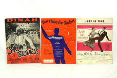 Vintage Musical Sheet Music - SHOW BUSINESS - MR. WONDERFUL - BELLS ARE RINGING
