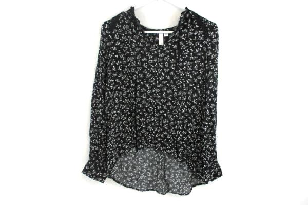 BP Floral Long Sleeve Boho Top Women's Size Small