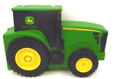 ERTL John Deere Tractor Toy Car Case Holder Green Children's