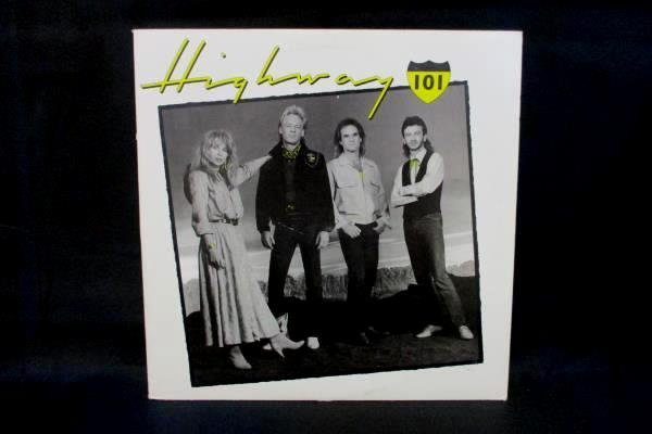Highway 101 Self Titled Debut Album 925608-1 Record Vinyl LP 1987