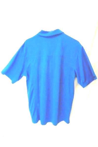 ONTOUR WEBTECH 300 SERIES Golf Polo Shirt BLUE Mens Size M