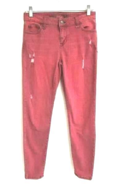 Skinny Jeans Body Sculpt Sunday Wine Cotton Blend Youth Size 7/28