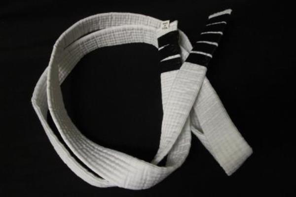 Martial Arts Uniform Set W/Belt Best Sang Moo Sa White Cotton Blend Youth Sz 00