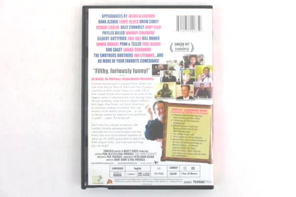 The Aristocrats: 100 Comedians. One Very Dirt Joke (2005) Fully Loaded DVD