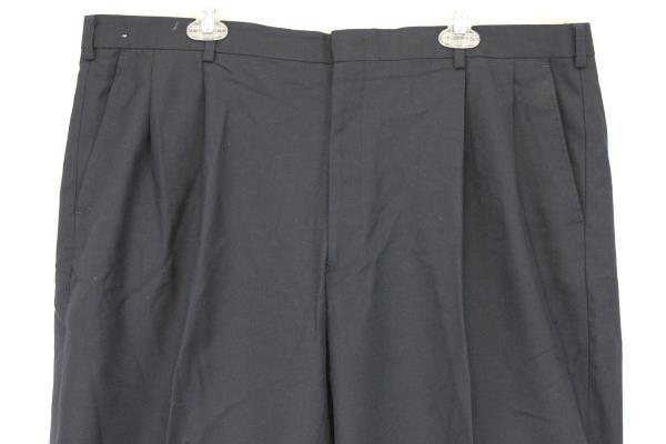 Murphy & Hartelius Pants Slacks Trouser Navy Blue Dress Career Size 42 R