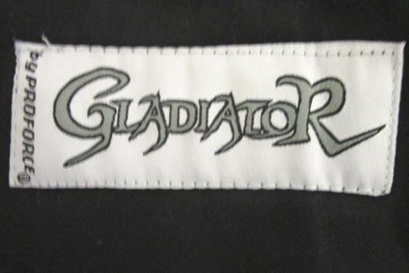 Gladiator By Proforce Jiu Jitsu Uniform Top & Bottom Black OSFA Men's Size #3