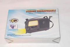 Dynamo Rechargeable Bands world Radio G-H 858 AM/FM/SW 1-68
