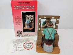 LE Emmett Kelly Figurine Orignal Circus Collection #EK-618 Dressing Room Box COA