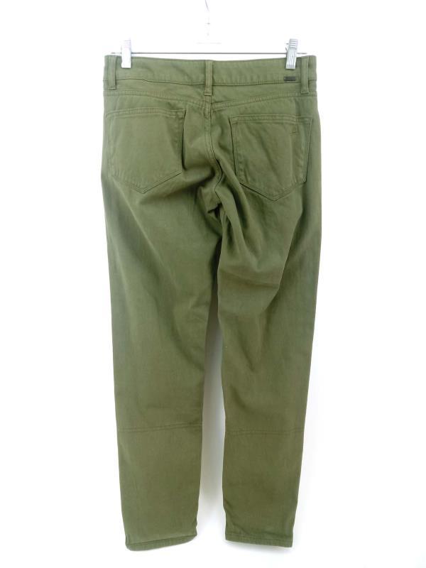 DL1961 Jeans Azalea Relaxed Skinny X Twill Sprint Green Sz 25 NWT $178