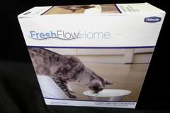 Petmate Purifying Pet Fountain Fresh Flow Home Stainless Bowl