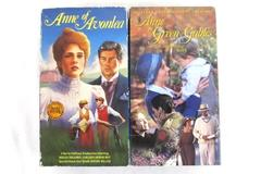 Lot of 2 VHS Box Sets Anne of Green Gables Continuing Story & Anne of Avonlea