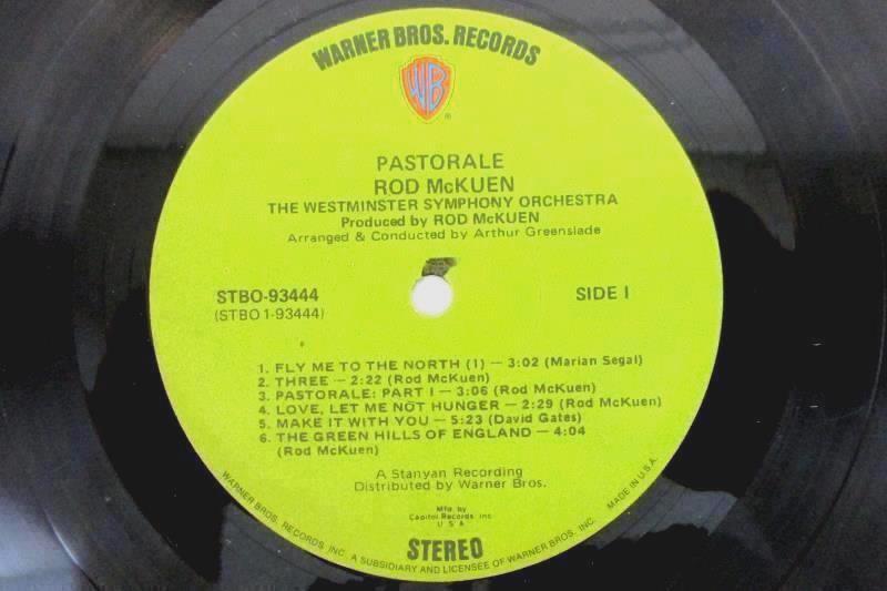 """Rod McKuen - Pastorale 1971 2 Record Set w/ Booklet 12"""" Vinyl 33 RPM LP"""