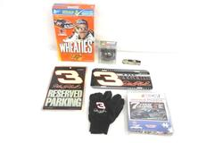 Lot Dale Earnhardt Merchandise NASCAR Ornament Cereal Box Knife Gloves License