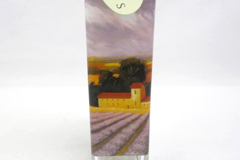 2003 Cypress Home 16 OZ. Glass Tuscany Lavender Field Oil Or Vinegar Bottle