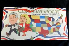 Clintonopoly The Great American Sell-off Board Game Collectors 1995 NIB