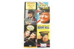 Lot of 4 VHS Tapes Benny Hill Lost Years The Best of Video Follies