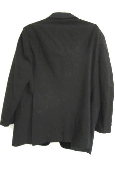 Suit Jacket Palm Beach Formals Kensington Style Black Men's Size 46 Regular