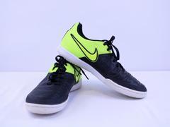 Nike Men's MagistaX Pro 2015 IC Indoor Soccer Shoes Neon Volt / Black Size 7.5M