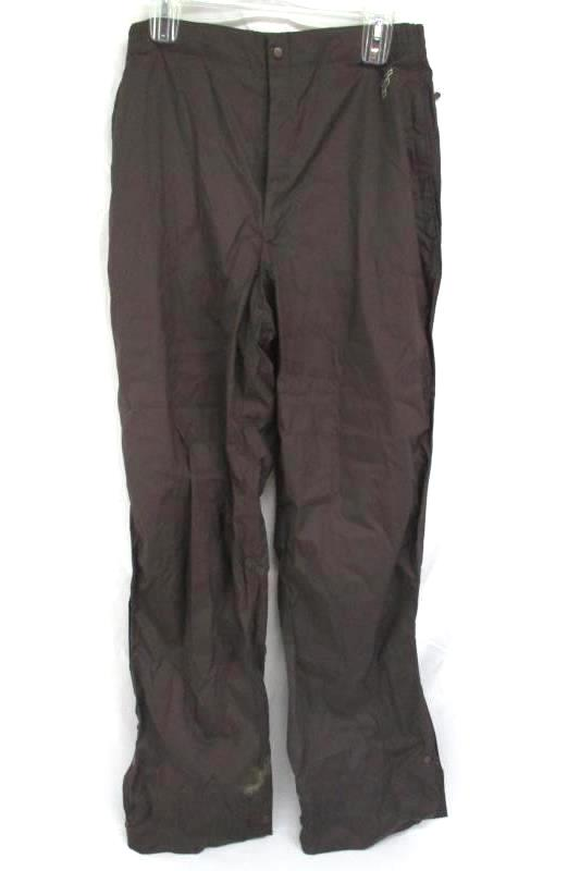 "Forrester's Men's Stormtex Waterproof Golf Pants Brown 30"" Elastic Waist Size L"