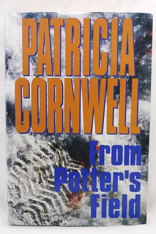 From Potter's Field by Patricia Cornwell 1995 Hardcover w/ Dust Jacket