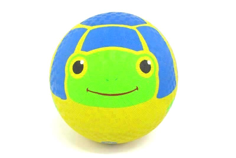 """Melissa & Doug Sunny Patch Scootin' Turtle 9"""" Rubber Ball"""