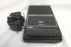 Vintage Cassette Tape Recorder Slim 2 By Sanyo 6.0V ADP-1