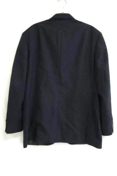Suit Jacket Oscar De La Renta Black/Pocketed 100% Wool Men's Size 40S