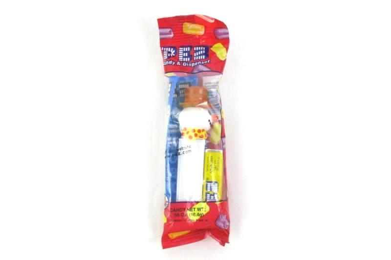 Pez Dispenser Orange Hat Snowman Sealed With Candies For Collectors