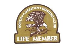 North American Hunting Club Life Member Bald Eagle Patch
