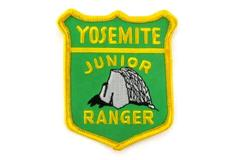 Yellow And Green Yosemite Junior Ranger Embroidered Patch
