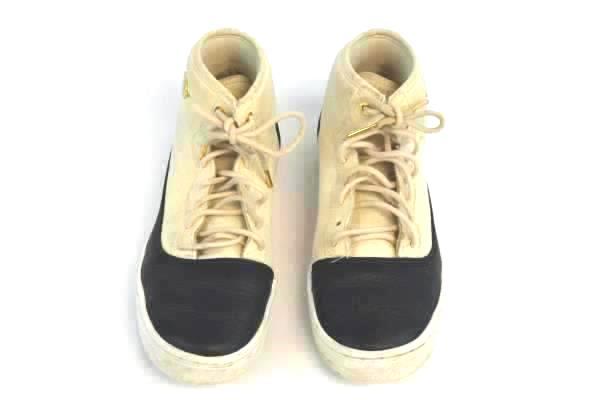 Nike Girls Jordan Jasmine Prem HC GS Kids 807711-207 Pearl White Shoes Size 6Y