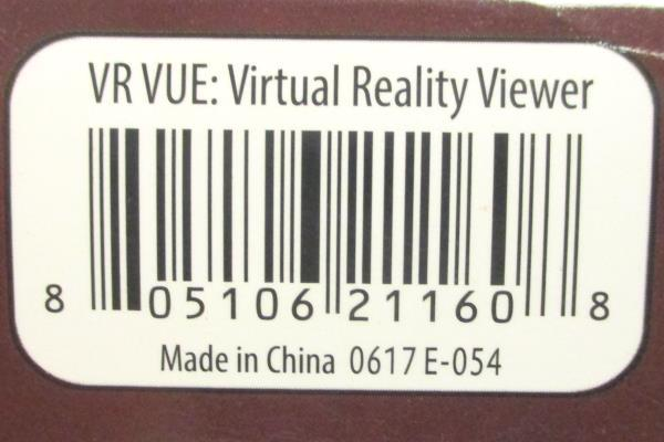 """Xtreme VR Vue II Virtual Reality Viewer for 3.5"""" - 6"""" Smarphones XSX5-1008-BLK"""