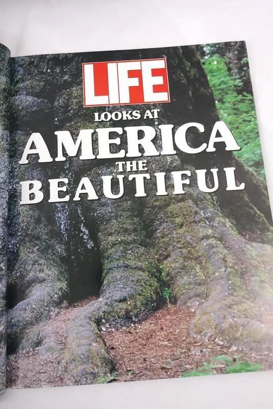 2 Pictorial Books: Sunset Beautiful Hawaii; Life Looks At America The Beautiful