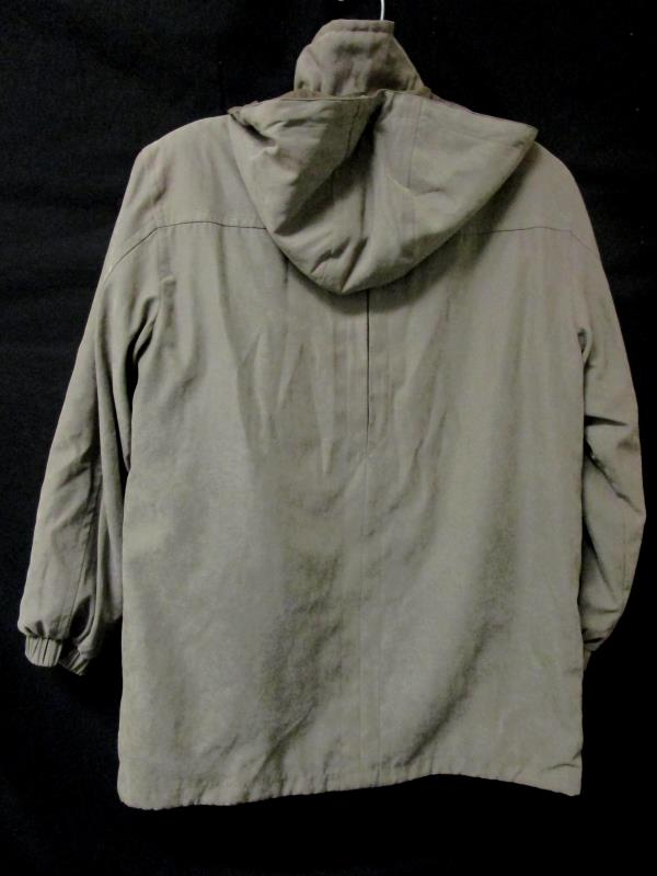 Mens FS Limited Hooded Winter Coat Light Brown Size S