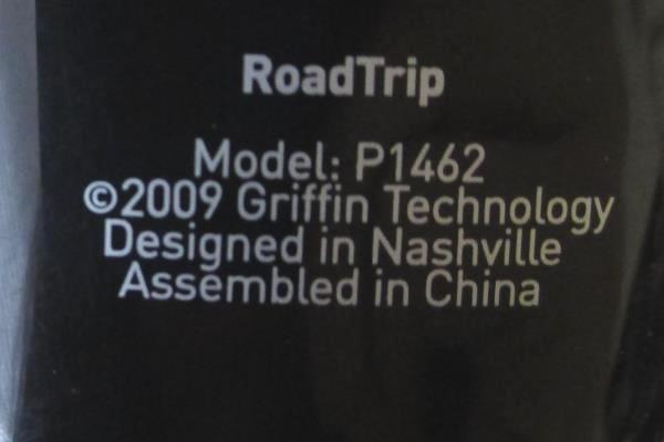 Griffin Ipod Road Trip Radio Connect Music Player Charger Model P1462