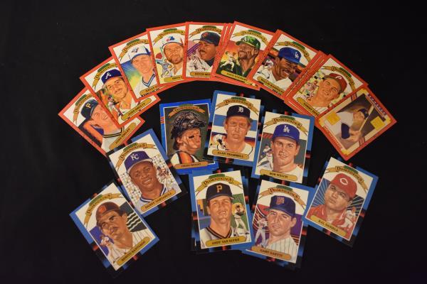 Lot Of Random 1980's 1990's DONRUSS Diamond Kings Baseball Cards