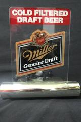 Light Up Beer Poster Miller Genuine Draft Brewing Company Multi-Color