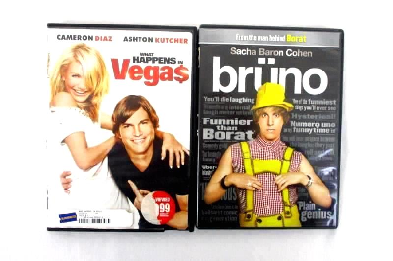 Lot Of 2 - What Happens In Vegas DVD And Bruno DVD