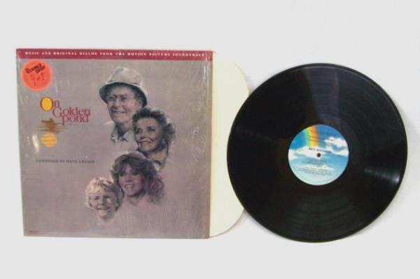 Lot of 4 Movie Music Record: Pink Panther On Golden Pond Petes Sake Flashdance