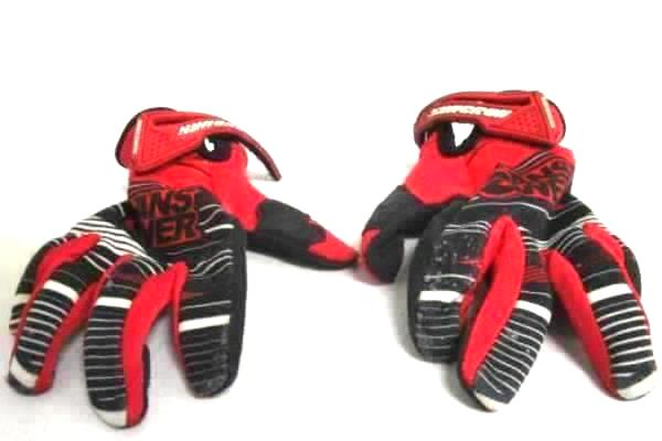 Youth Syncron Dirt Bike Gloves Answer 2013 Red Black Off Road Size Medium