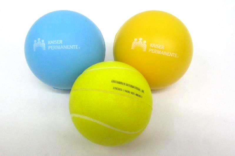 5 Rubber Stress Balls Advertising  Kaiser Permanente Grande Ronde Indian Tribe