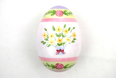 Linens -N- Things Large EASTER EGG Shaped Candy Dish