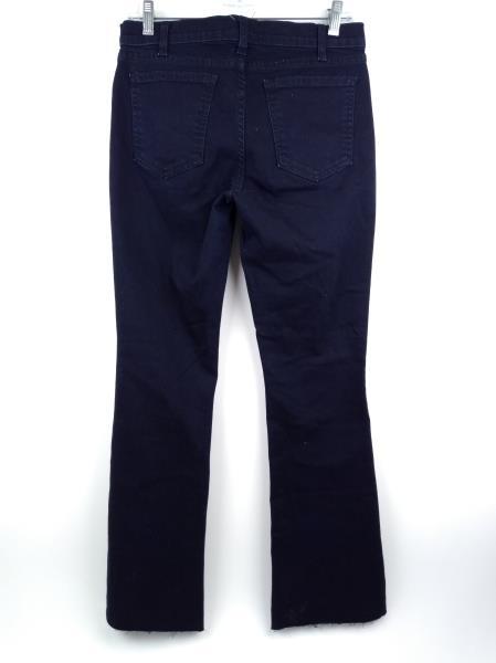 CURRENT/ELLIOT Womens Bootcut Flare Jeans Dark Wash Raw Hem Sz 27