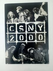 Crosby Stills Nash Young CSNY 2000 Concert Collectible Photo Book