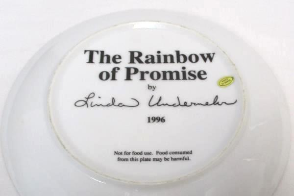 2 Religious The Rainbow of Promise Collector Plate Bonus Book A Door of Hope