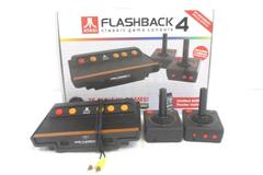 Atari Flashback 4 - 75 Built In Games 2 Wireless Controllers No AC Power Adapter