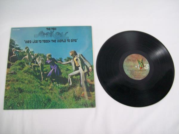 "The New Seekers ""We'd Like To Teach The World To Sing"" Record 12"" LP 33 RPM 1971"