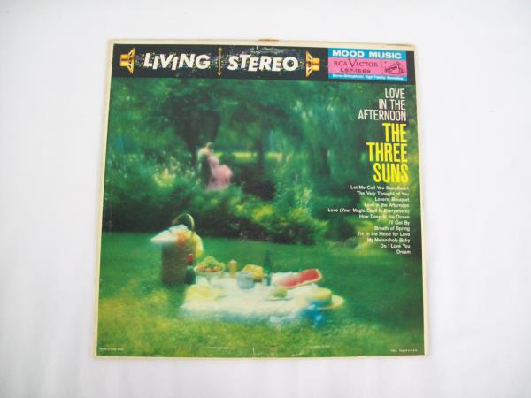 Love In The Afternoon The Three Suns Vinyl Record 1959