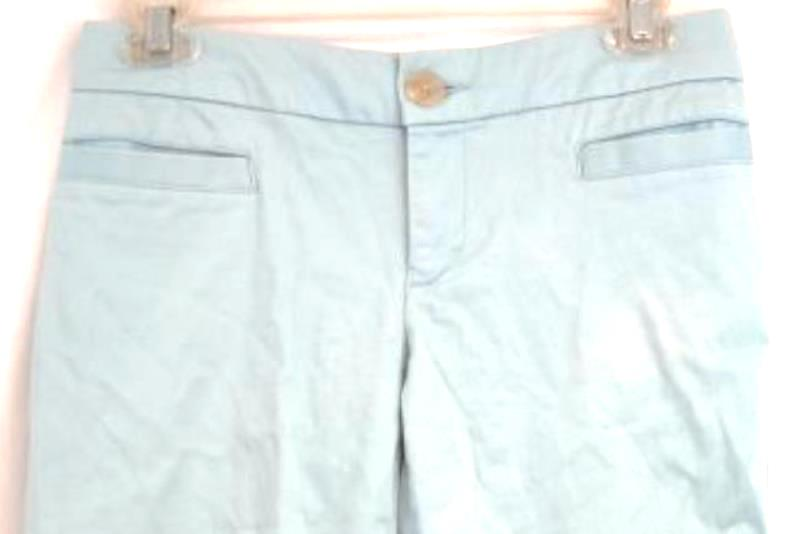 Old Navy Stretch Pants Trousers Blue Wide Leg Women's Size 1